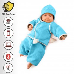 Adrian Baby Cap - Bonnet Outdoor - Protection against harmful Electromagnetic Waves & Mobile - OnyxPro - EM Pro Shield