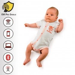 Trinity Baby Body - Onesies Short Sleeve - Protection against harmful Electromagnetic Waves & Mobile-OnyxPro-EM Pro Shield
