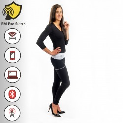 Angelica Long Yoga Pants / Leggings - Protection against harmful Electromagnetic Waves & Mobile - OnyxPro - EM Pro Shield